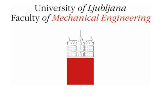 Logo Wydziału Inżynierii Mechanicznej na Uniwersytecie w Ljubljanie